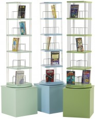 Paperback Spinner – Paperback, DVD, Video (5 tier)
