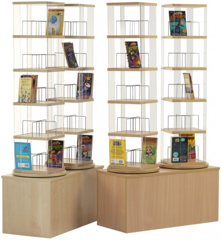 Paperback Spinner - Paperback, DVD, Video (5 tier)