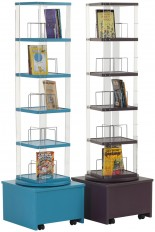 Mobile Library Spinner for Paperback/Video/DVD
