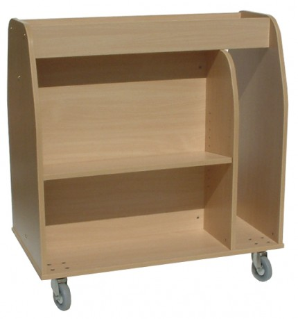 Multi-media Book Trolley
