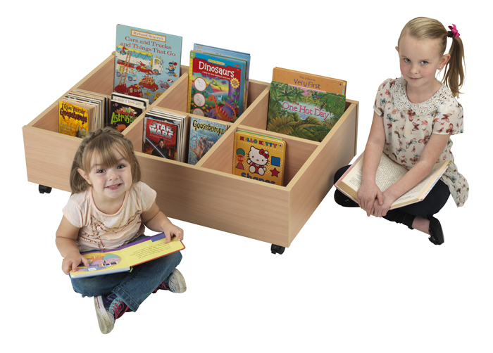 Herok educational furniture : Early-Years-6-Compartment-Mobile-Kinderbox