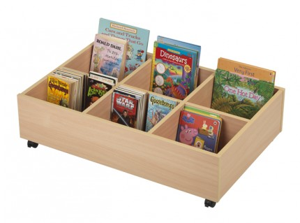 7095 Early Years Mobile Kinderbox - 6 Compartment