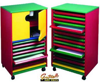 8040+2 Gratnells Art Tray Box