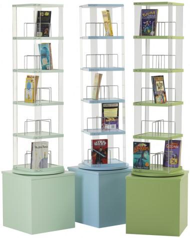 Paperback Spinner - Paperback, DVD, Video (5 tier)