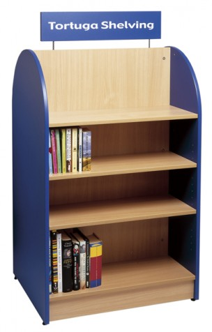 5030 - Tortuga Shelving - Double Sided blue and beech