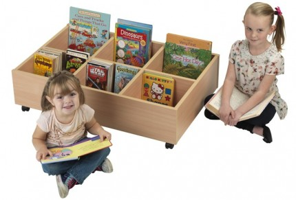 7095 Early Years Mobile Kinderbox - 6 Compartment  1