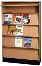 Richmond Unit – Magazine Display Rack