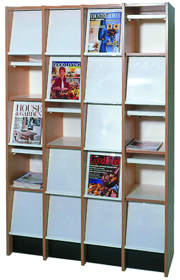 Mead Unit Magazine Display Rack Herok Library Furniture Makers Herok
